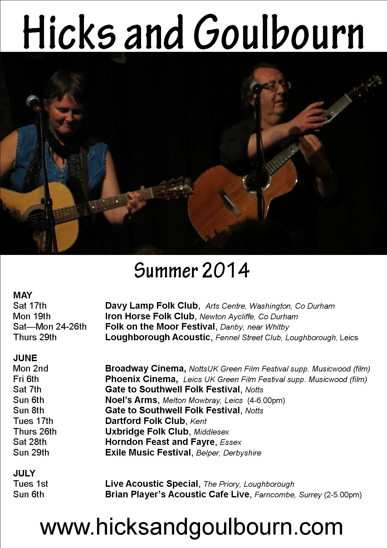 Summer 2014 gigs poster 120514  web poster