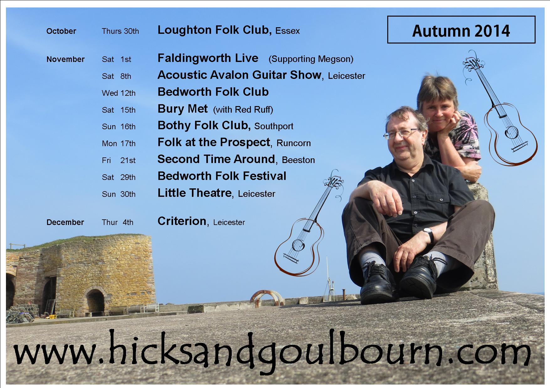 Autumn 2014 gig dates poster jpeg